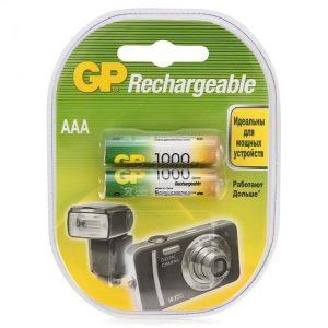 Аккумулятор Ni-MH GP 100AAAHC-CR2