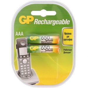 Аккумулятор Ni-MH GP 65AAAHC-2CR2