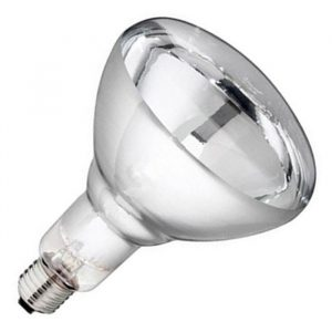 Лампа накаливания инфракрасная зеркальная 250Вт Е27 ИКЗ-250