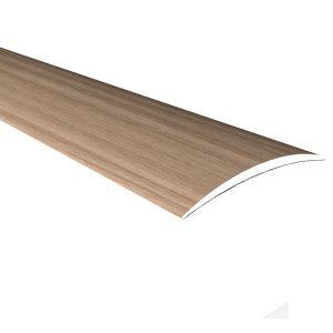 Порог алюминиевый полукруглый КТМ-2000 120-617К дуб беленый 40 мм х 0