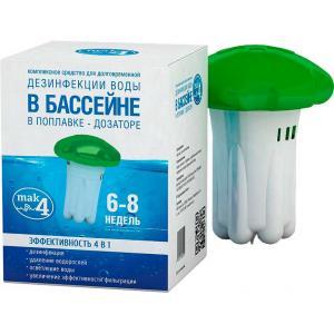 Средство для дезинфекции воды в бассейне QUATTROTABS 200 МАК 4