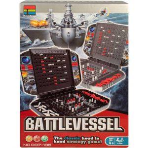 007-106 Игра детская настольная Морской бой