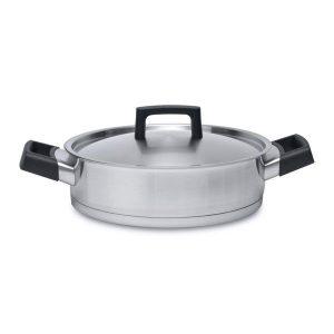 3900025 Ron глубокая сковорода с крышкой 24 см 3