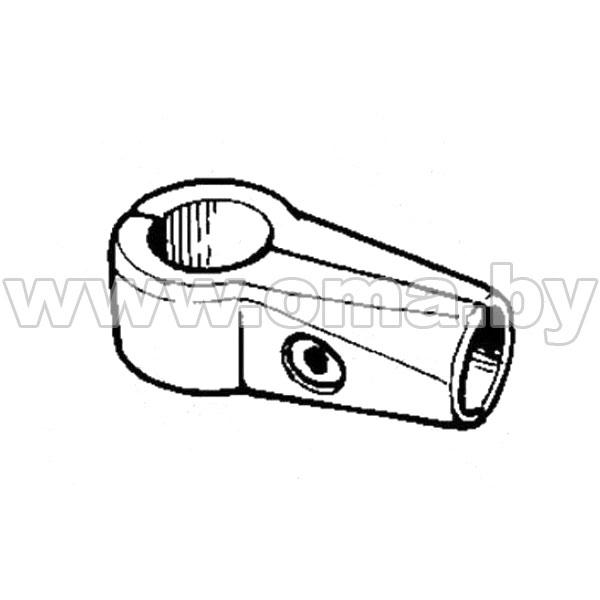 (560) Соединитель 2-х труб d25мм