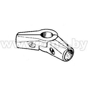 (561) Соединитель 3-х труб d25мм S-угловой