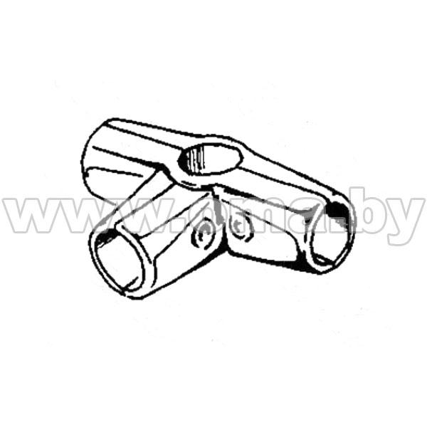 (562) Соединитель 4-х труб d25мм