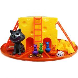 707-38 Игра детская настольная Кот и мыши