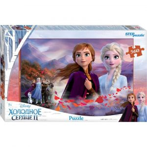 97075 Мозаика puzzle 560 Холодное сердце - 2 (Disney)