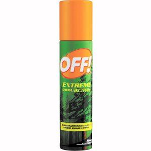 Аэрозоль OFF Extreme против комаров