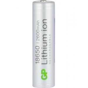 Аккумулятор Li-ion (литий-ионный) 1865026FPE-2CRFB1 (2600mAh/18650) GP