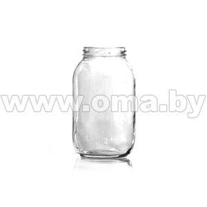 Банка стеклянная III-2-82-1500 1