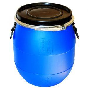 Бочка-барабан с крышкой 48 л.
