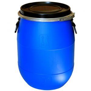 Бочка-барабан с крышкой 65 л.