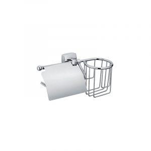 Бумагодержатель и держатель дезодоранта KVADRO (Fixsen арт.FX-61309+10)