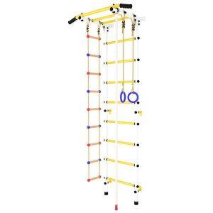 Детский спортивный комплекс GetActive Force 4GA-15 (белый/желтый)