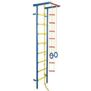 Детский спорткомплекс пристенный Leco-IT Leco гп 030945