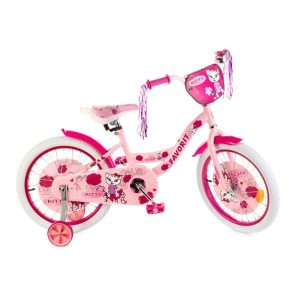 Детский велосипед Favorit Kitty 14 (розовый)