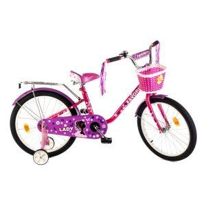 Детский велосипед Favorit LADY 20 (розовый/фиолетовый)