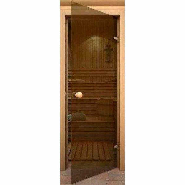 Дверь для сауны AKMA стеклянная гладкая
