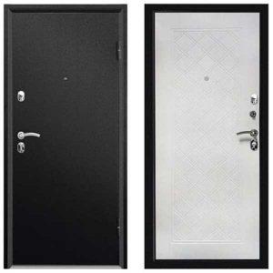 ДверьметаллическаявходнаяФорте СИМПЛ черный муар 2066*880 R