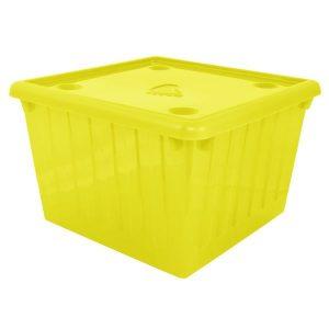 Емкость для хранения вещей с крышкой Алеана 112043 25л