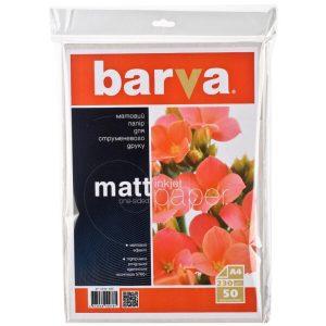 Фотобумага BARVA Матовая (IP-A230-022) А4 50 л