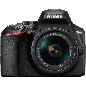 Фотокамера NIKON D3500 комплект с 18-55 AF-P VR черный