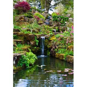 Фотообои Сад с водопадом 254х200 см