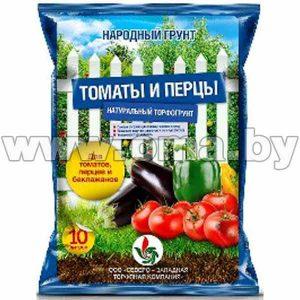 г Грунт НАРОДНЫЙ ГРУНТ для томатов и перцев 10л