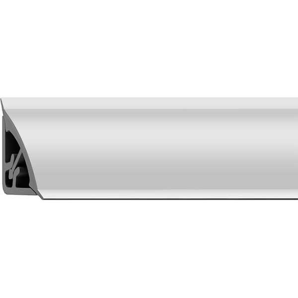 Галтель ПВХ Белая наружн. с мягким краем двухсост. 15х15х2700мм