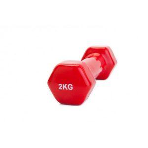 Гантель Bradex SF 0161 2 кг (красный)
