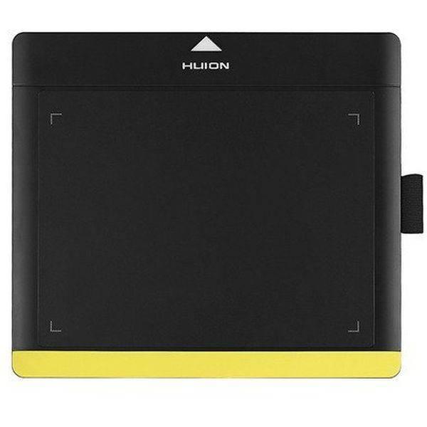 Графический планшет HUION 680TF черно-желтый