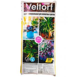Грунт универсальный Велторф для цветов 50 л
