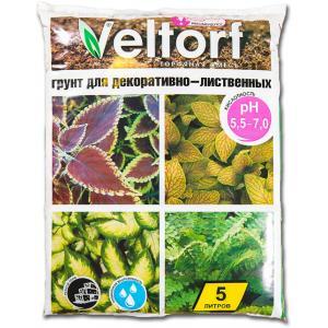 Грунт Велторф для декоративно-лиственных растений