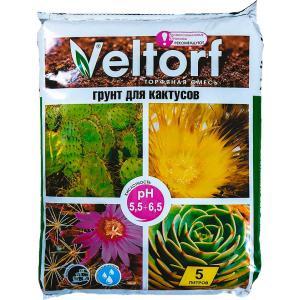 Грунт Велторф для кактусов 5 л