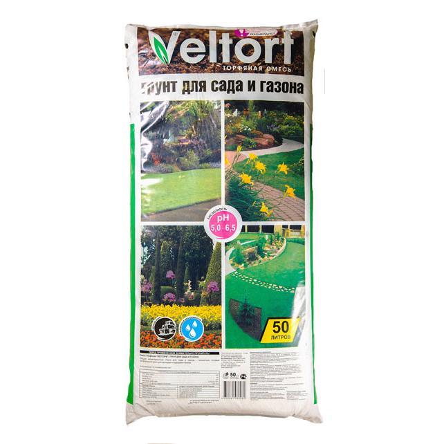 Грунт Велторф для сада и газона