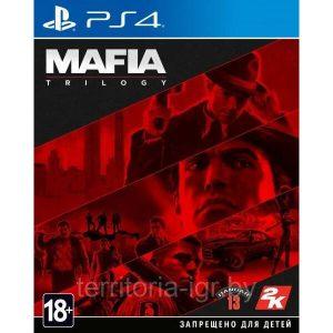 Игра Mafia: Trilogy для PlayStation 4