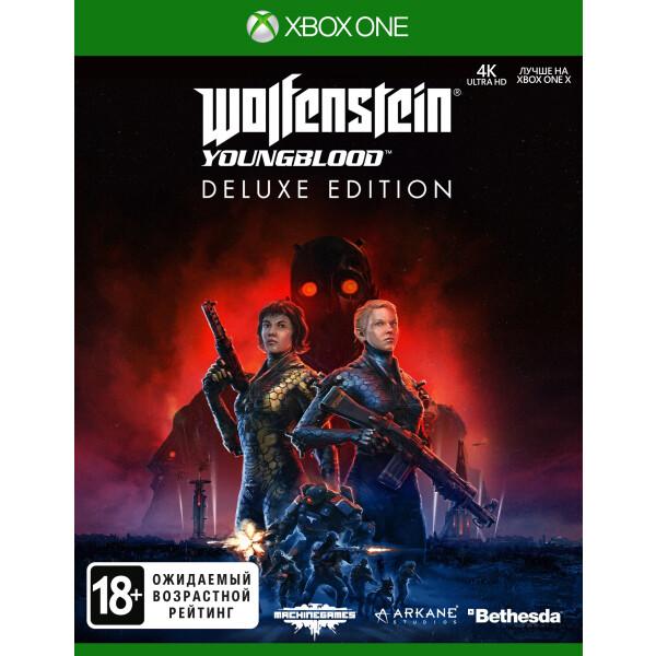 Игра Wolfenstein: Youngblood Deluxe Edition [Xbox One