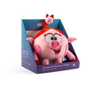 Интерактивная игрушка YANDEX Нюша (SM281) серия Смешарики
