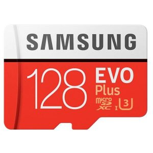 Карта памяти Samsung EVO Plus microSDXC 128GB (MB-MC128HA/RU)