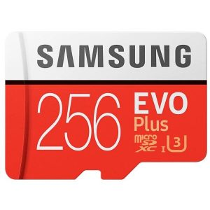Карта памяти Samsung EVO Plus microSDXC 256GB (MB-MC256HA/RU)