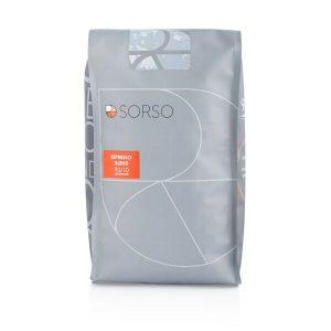 Кофе Sorso Эспрессо-бленд 90/10 в зернах 1000 г