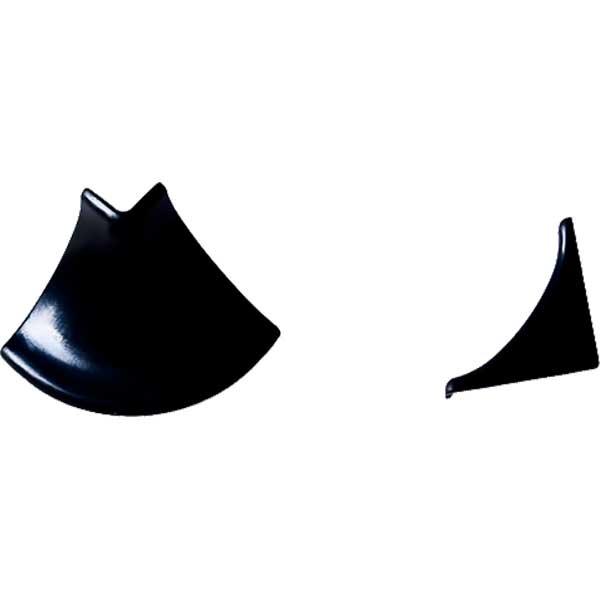 Комплект фурнитуры для галтели НР черный (уголок наружн.