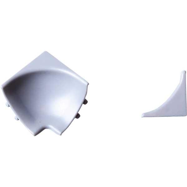 Комплект фурнитуры для галтели ВН серебро (уголок вн.