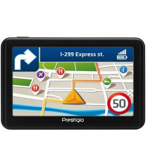 Комплект: GPS Навигатор PRESTIGIO GeoVision 5060 Progorod (PGPS5059CIS04GBPG) + Автомобильный видеорегистратор PRESTIGIO Roadrunner 140 (PCDVRR140)