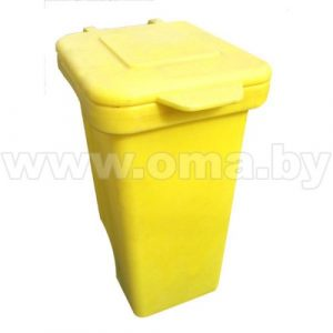 Конт-р д/мусора 120л с крышкой