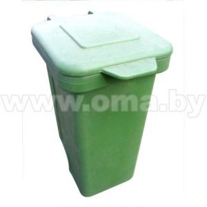 Конт-р д/мусора 240л с крышкой