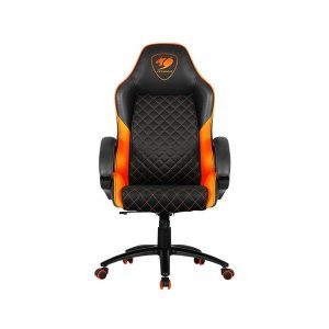 Кресло Cougar Fusion (черный/оранжевый)
