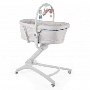 Кроватка-стульчик CHICCO Baby Hug (glacial)