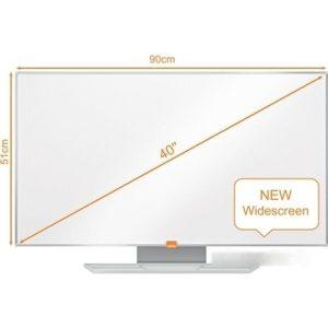 Магнитно-маркерная доска NOBO Widescreen 40 Nano Clean Whiteboard (1905297)
